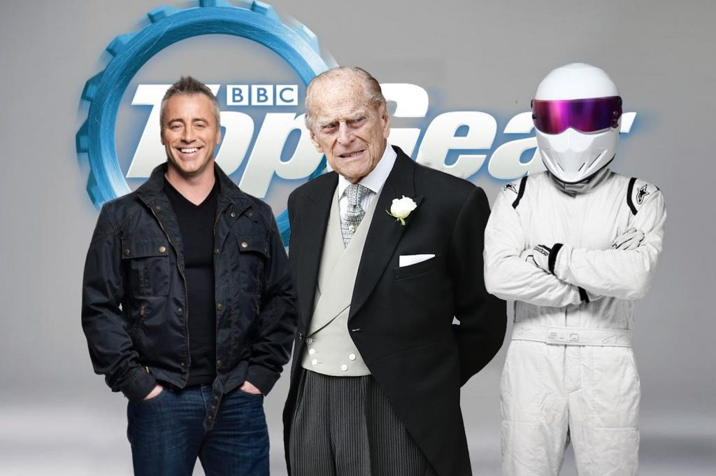 Prince Philip car crash latest - Revealed as new presenter of 'Top Gear'