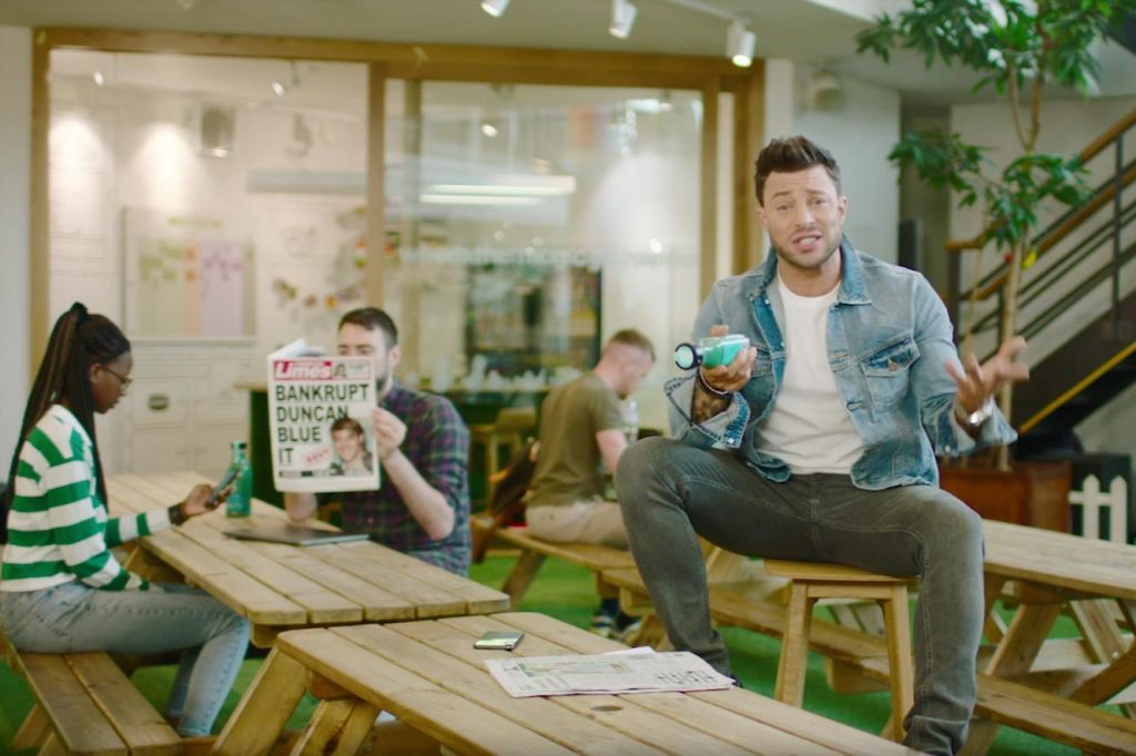 Funny Advert - Innocent Smoothies - Duncan from Blue 2019