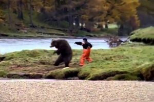 Funny Advert - John West Salmon Bear Fight