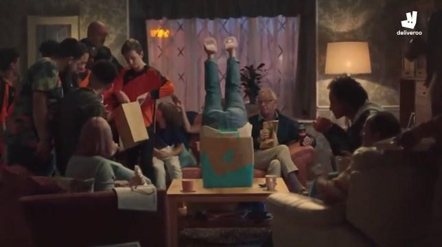 Funny advert - Deliveroo - Bottomless Bag