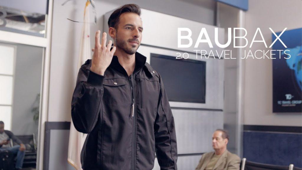 BauBax funny jacket advert