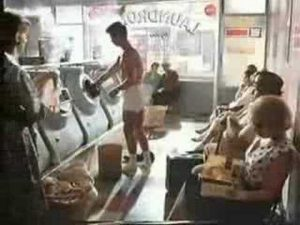 Carling Black Label funny advert launderette 80s