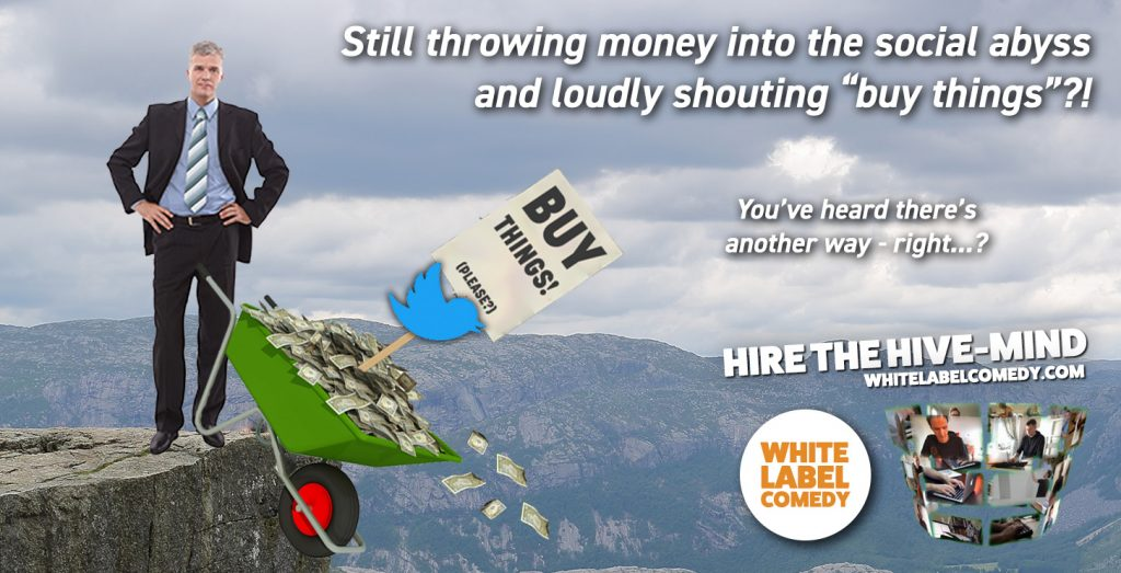 White Label Comedy - a social media marketing agency who do things differently