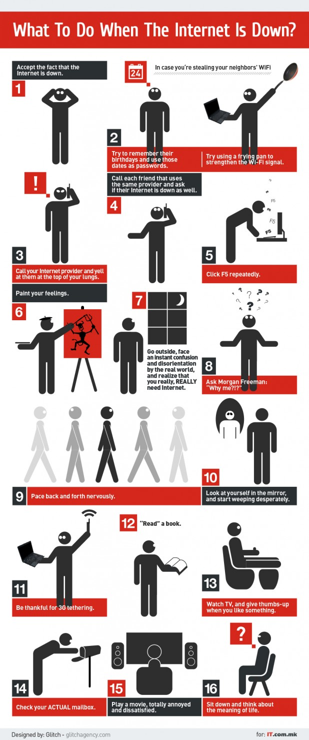 Use funny infographics to boost brand awareness on social media
