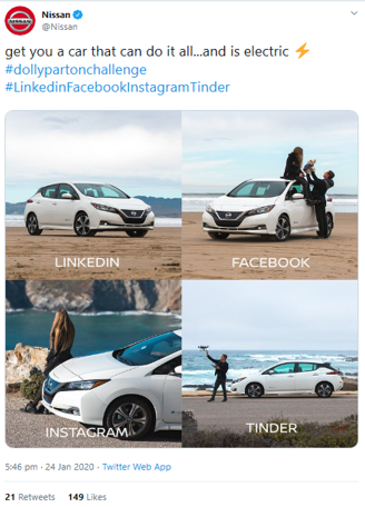 Humour in the Automotive Industry - What works, and Why. Nissan