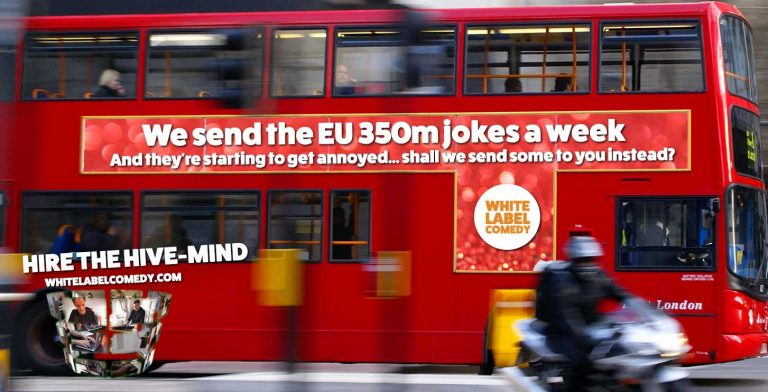 We send the EU 350m jokes instead (small)