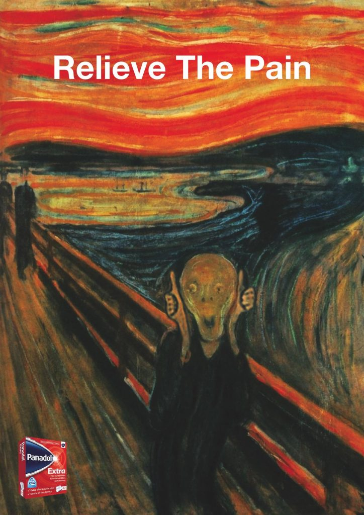 Panadol Ad Relieve The Pain Funny Ads Archive The Scream