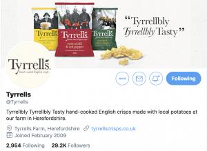 Tyrrells twitter funny