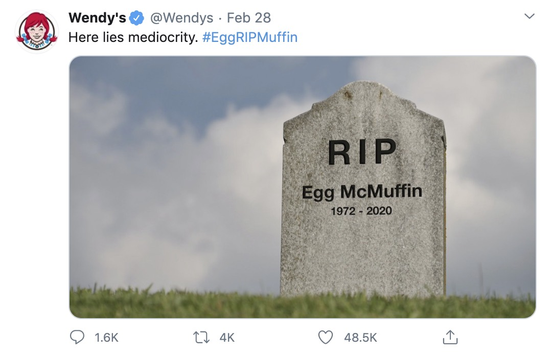 Wendy' rip McDonald's in the most satisfying way