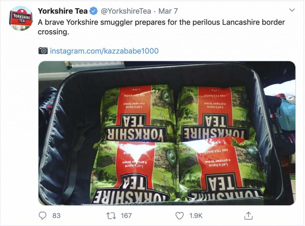 More funnies from Yorkshire Tea