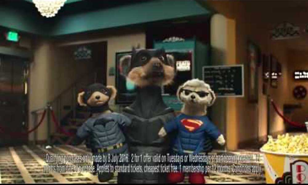 one of the first Meerkat Movies Ads